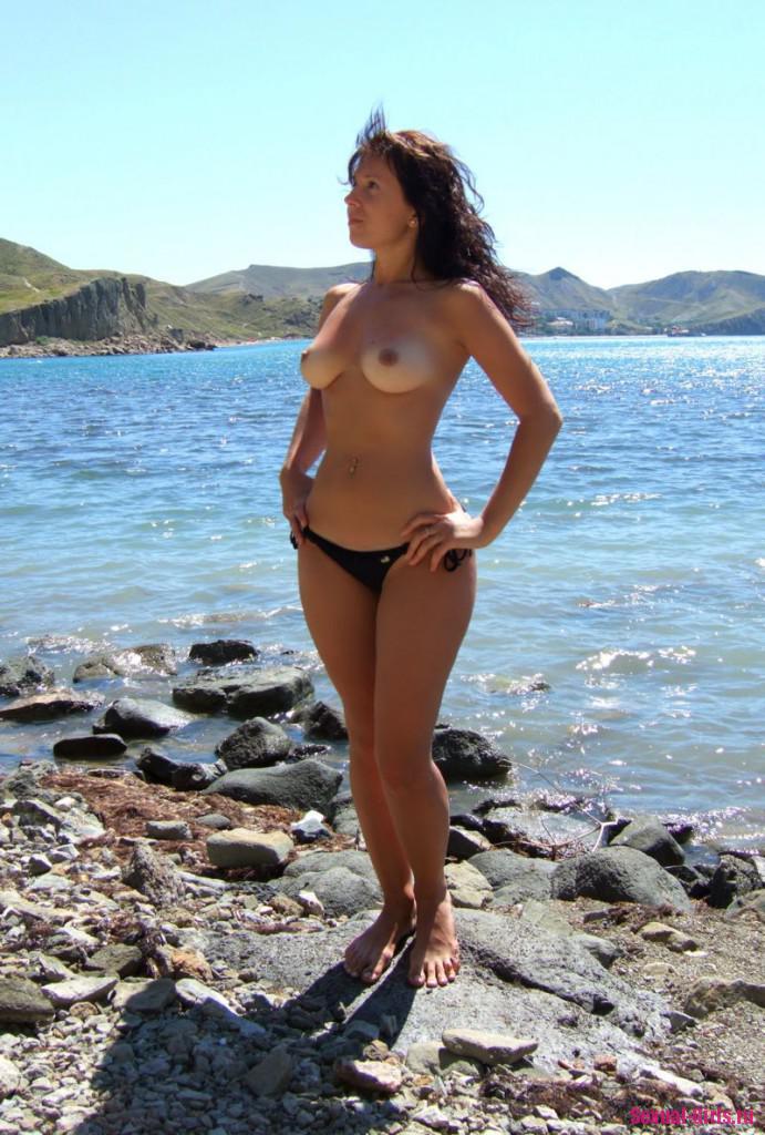 Частная пляжная эротика