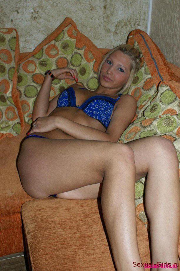 Частный фотосет блондинки