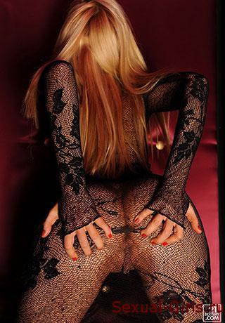 Красивая задница блондинки