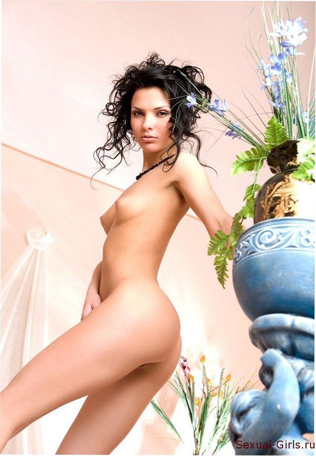 Сексуальная фотография: Эротика с красивой брюнеткой